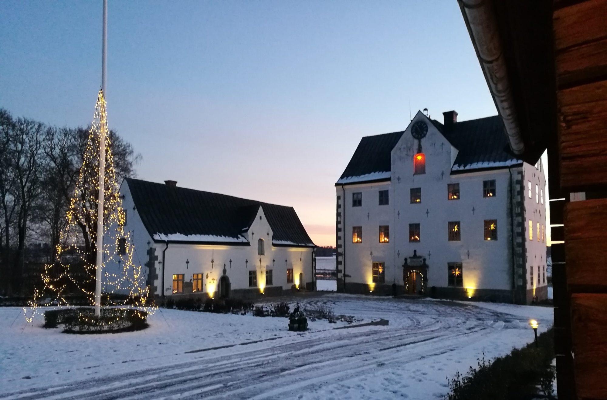 Julmarknad vid Salnecke slott