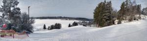 Utsikt över Skattmansöbacken