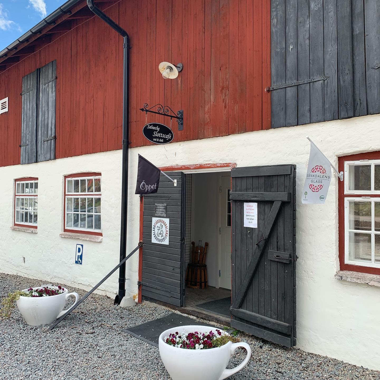 Salnecke slottscafé ingång