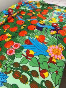 Textila spår på Antikmässan
