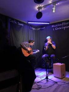 musik på Café Samt