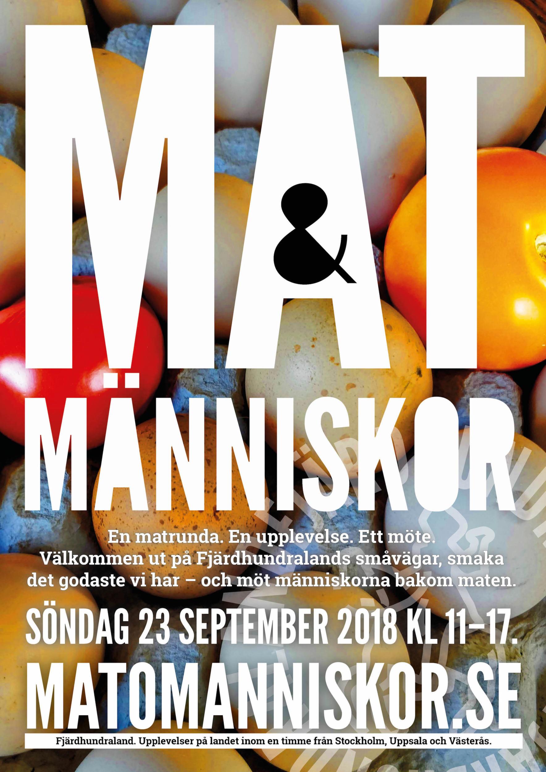 Affisch Mat & människor 18