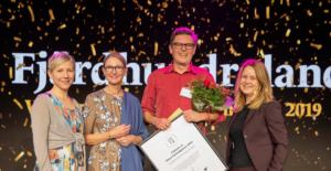 Picture of the winners Stora Turismpriset 2019