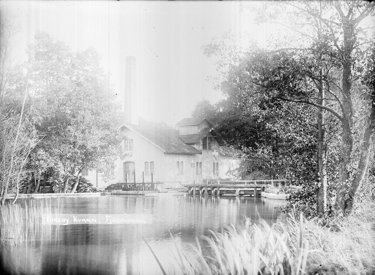 Forsby mill photo John Alinder Upplandsmuseet